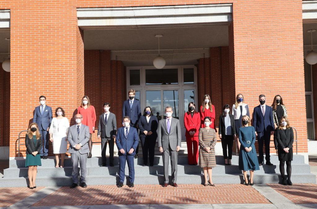 Audiencia de Su Majestad El Rey a la XX Promoción del Cuerpo Superior de Interventores y Auditores del Estado