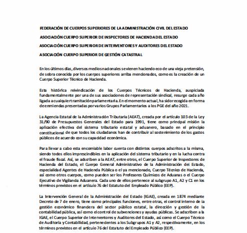 Carta conjunta enmiendas LPGE 2021