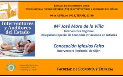La Asociación Profesional del Cuerpo Superior de Interventores y Auditores del Estado visita la Universidad de Oviedo