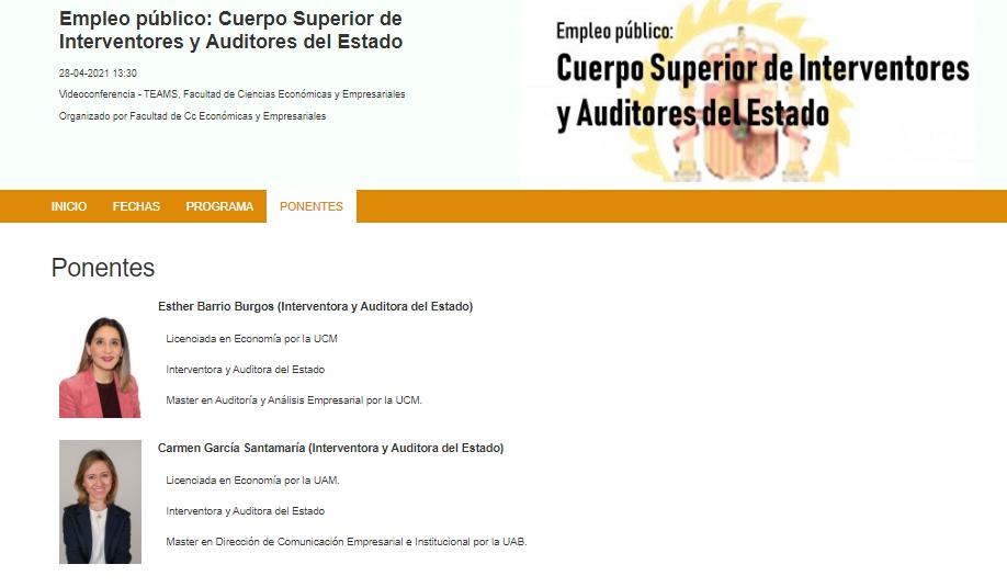 La Asociación Profesional del Cuerpo Superior de Interventores y Auditores del Estado visita la Universidad Autónoma de Madrid