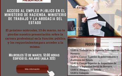 La Asociación Profesional del Cuerpo Superior de Interventores y Auditores del Estado visita la Universidad Pública de Navarra