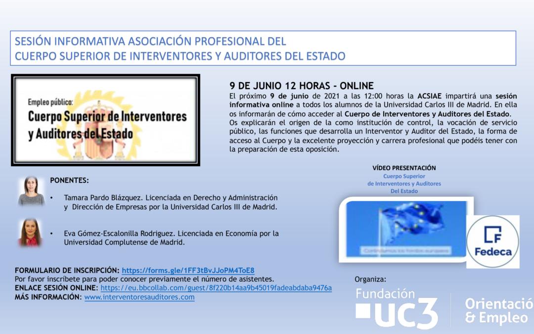 La Asociación Profesional del Cuerpo Superior de Interventores y Auditores del Estado visita la Universidad Carlos III de Madrid