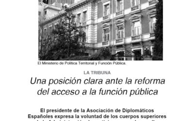 Presidente ADE en El Español